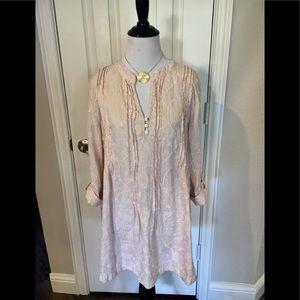 Marina Luna light pink tunic